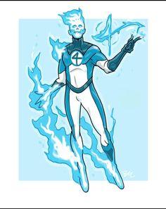 Comic Books Art, Book Art, Human Torch, Marvel Comic Character, Marvel Comics, Character Design, Universe, Cosmos, Space