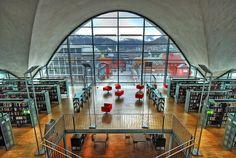 Norway. Tromsø public library. Library website http://www.tromso.kommune.no/hjem.255743.no.html