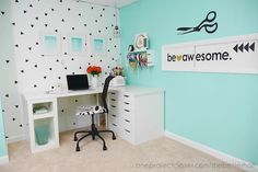 Basement Craft Room MakeoverP1400596-One-project-closer