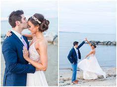 Engagement Session | Forehead Kisses | Beach | Dancing Couple | Hope Taylor Photography