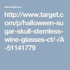 sugar-skull-stemless-wine-glasses