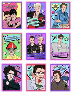 *Due to restocking inventory, any orders that contain the 80s Horror Valentine's Day Card Pack or the New Wave Valentine's Day Card Pack will be shipped out after 12/5!*The New Wave Val...