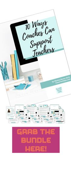 In this ebook, you'll find ten ways coaches can support teachers with education technology.Who is this for? Anyone who gives advice, helps out, or coaches their colleagues in an informal or formal role.Connection to remote learning & home learning: These strategies can be tailored to virtual learning environments! #4 will save you lots of time and #8 will connects to current shifts in the way we plan. #VirtualLearning #EdTech #DistanceLearning #RemoteLearning Virtual Learning Environment, Learning Environments, Play Based Learning, Home Learning, Tools For Teaching, Teaching Resources, Instructional Coaching, Teacher Hacks, Upper Elementary