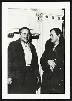 Citation: Gertrude Stein and Elizabeth McCausland, 1934 / unidentified photographer. Elizabeth McCausland papers, Archives of American Art, ...