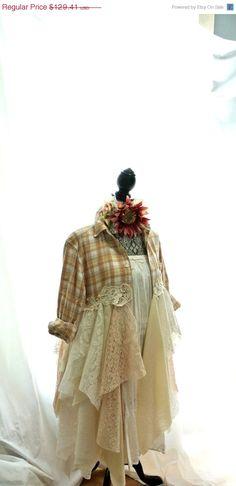 Gypsy vagabond coat bohemian jacket boho by TrueRebelClothing