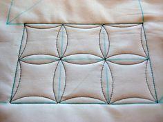 quilting around squares