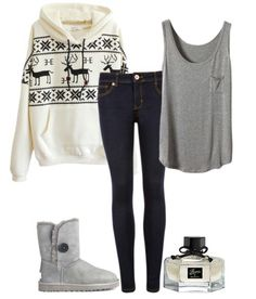 Warm outfit for cold days