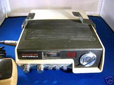 Vintage Motorola CB radio