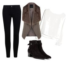 """❤️"" by m8padilla on Polyvore featuring moda, MANGO y Yves Saint Laurent"