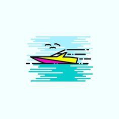   B O A T    #vector#flatdesign#iconaday#instaartist#design#graphicdesign#art#flatart#simplicity#graphicgang#illustrator#graphicdesigncentral#instagood#visforvector#designinspiration#basketball#gfxmob#icon#boat#water#sail#dribbble#tropical#linework#love#paradise by williamkcreative
