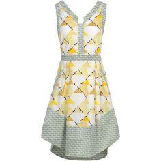SUNO Short dress ❤ liked on Polyvore