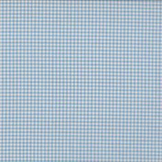 Makower - New Gingham Light Blue cotton fabric Blue Bunting, Patchwork Fabric, Gingham Check, Haberdashery, Clipart, Sewing Patterns, Cotton Fabric, Light Blue, Paper