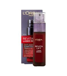 L'Oréal Paris Dermo Expertise Revitalift Laser Renew Anti-Aging Triple Action Super Serum - Care - Skin care , beauty ideas and skin care tips Best Anti Aging, Anti Aging Cream, Anti Aging Skin Care, Loreal Revitalift, Best Face Serum, Hair Care, Brown Spots On Face, Dark Spots, Beauty Makeup