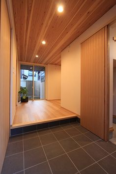 Hallway – Home Decor Designs Japan Interior, Japanese Interior Design, House Entrance, Entrance Hall, Style Japonais, Japanese House, House Goals, Dream Rooms, House Front