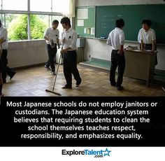 Student janitors