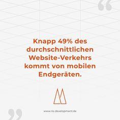 ➖ Fakt des Tages ➖  Das Responsive Design von Webseiten wird immer wichtiger. Nicht weniger relevant ist dabei die Optimierung von Online-Shops, um den Kunden das optimale Einkaufserlebnis bieten zu können.