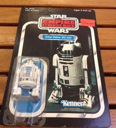 STAR WARS-ESB-ARTOO DETOO R2 D2-VINTAGE-CARDED-41 BACK-unpunched-MOC-AFA READY