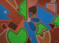 KORZH Taras, fauna, 2015, Acrylic on canvas, 100 x 75