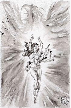 Dark Phoenix by Gene Espy