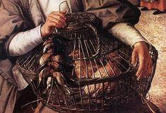Pieter Aertsen (circa 1508–1575) Market Scene DETAIL