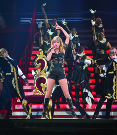 How amazing is she?!?!?! Photo from The RED Tour