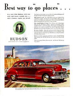 1946 Hudson Commodore Four Door Sedan