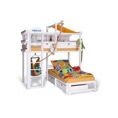 lit superposé pour enfants CALGARY. Pour en savoir plus: https://www.meubles-pour-enfants.com/meubles-enfants/lits-superposes/lit-superpose-blanc-calgary.html