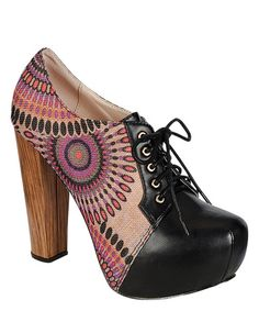 Take a look at the PINKY FOOTWEAR Black Bonny Bootie on #zulily today!
