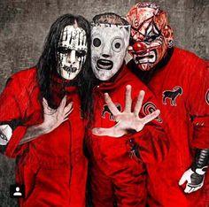 Joey Jordison, Corey Taylor, and Shawn Crahan of Slipknot! Slipknot Lyrics, Slipknot Logo, Slipknot Band, Mick Thomson, Chris Fehn, Best Heavy Metal Bands, Heavy Metal Music, Paul Gray, Iowa