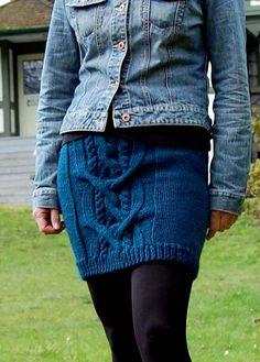 Ravelry: Chemainus Chunky Skirt pattern by Victoria Kroh