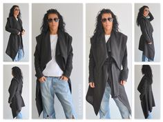Black linen vest / Black linen coat / Black autumn Аsymmetric Long vest by ClothesByLockerRoom on Etsy https://www.etsy.com/uk/listing/247447985/black-linen-vest-black-linen-coat-black