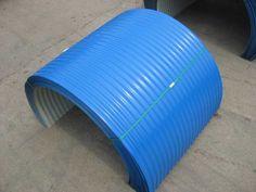 installation of belt conveyor cover support frame