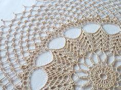 Manufaktura Rękodzieła - Zdjęcie serwetki z kompletu wykonanego na szydełku