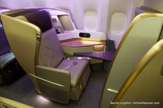 Singapore's new Business Class will be tough to beat.