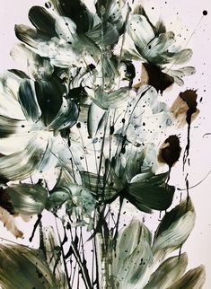 Dan Hobday Art Ltd. Large Wall Art, Botanical Art, Home Art, Dan, Plant Leaves, Abstract, Modern, Plants, Summary