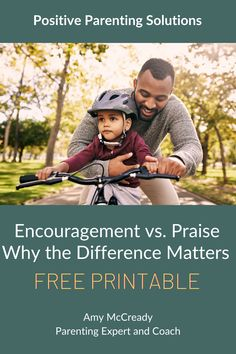 Positive Parenting focuses on empowering our kids, and the best tool for the job isn't praise; it's Encouragement. Learn more and get a FREE Printable of Encouraging Words. #positiveparentingsolutions #amymccready #amymccreadypps #motherhoodrising #momlife #gentleparenting #positiveparenting #pps #family #motherhoodunplugged #parenting #motherhood #momlife #kids #parenthood #children