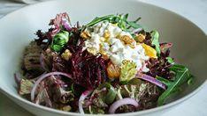 Σαλάτα με παντζάρι και καρύδια, της Λεμονιάς Βασιλειάδη Kai, Food And Drink, Beef, Ethnic Recipes, Foods, Food Food, Steak