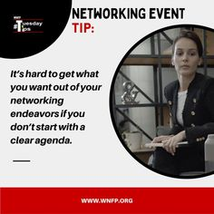 It's Hard to Get What You Want Out of Your Networking Endeavors if You Don't Start With a Clear Agenda - Before attending meetings or events, take the time to determine what your goals are for the experience. For example, you might want to make new connections, donate your time to the community, or simply learn about the latest developments in your business or industry. #networkingevents #businessevents #business Business Events, Business Networking, Simply Learning, Get What You Want, Hard To Get, Growing Your Business, Business Opportunities, Monday Motivation, Community