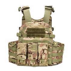 Workplace Safety Supplies Safety Clothing Aa Shield Molle Hunting Plates Carrier Mbav Style Military Tactical Vest Od
