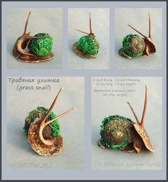 Herbal snail - Velvet Plastic - Eugene Hontor - Galleries - World Conjured