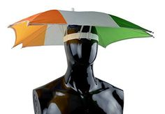 Umbrella Hat printed with Indian flag
