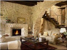 Rustic Italian Home Design Toscano, Italian Home, Italian Cottage, Italian Farmhouse Decor, Tuscan Design, Interior Decorating, Interior Design, Interior Colors, Decorating Blogs