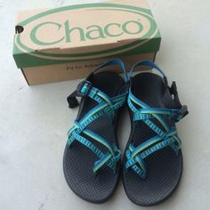 Double Strap Chacos Women's double strap Chacos size 8. Have been worn but not often. I discovered I need a size wide in these shoes so that is the only reason I am selling. Chacos Shoes Sandals