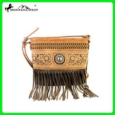 MW352-8287 Montana West Fringe Collection Crossbody Bag-Brown - Crossbody bags (*Amazon Partner-Link)