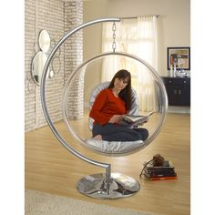 Hanging Orbit Chair Stand Only | dotandbo.com
