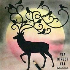 Johanna Basford | Enchanted Forest - Deer
