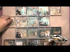 Shadow Box Tutorial by Cindy Brown - YouTube