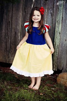 Snow White Dress - Princess Snow White Dress - Princess Dress - Disney Dress - Disney Vacation Dress on Etsy, $55.00