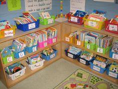 1st grade classroom library
