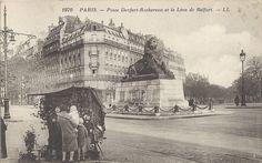 Place Denfert-Rochereau.